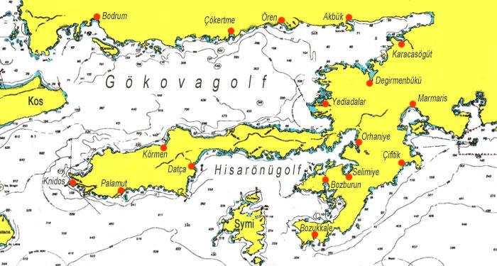 sandstrände nord zypern karte